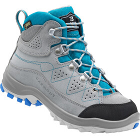 Garmont Escape Tour GTX Shoes Kids grey/aqua blue